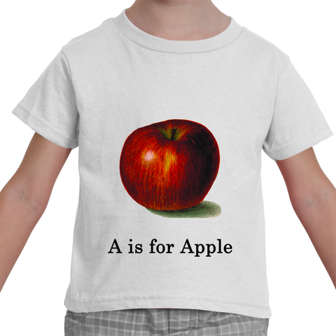 """A is for Apple"" Toddler T-Shirt"