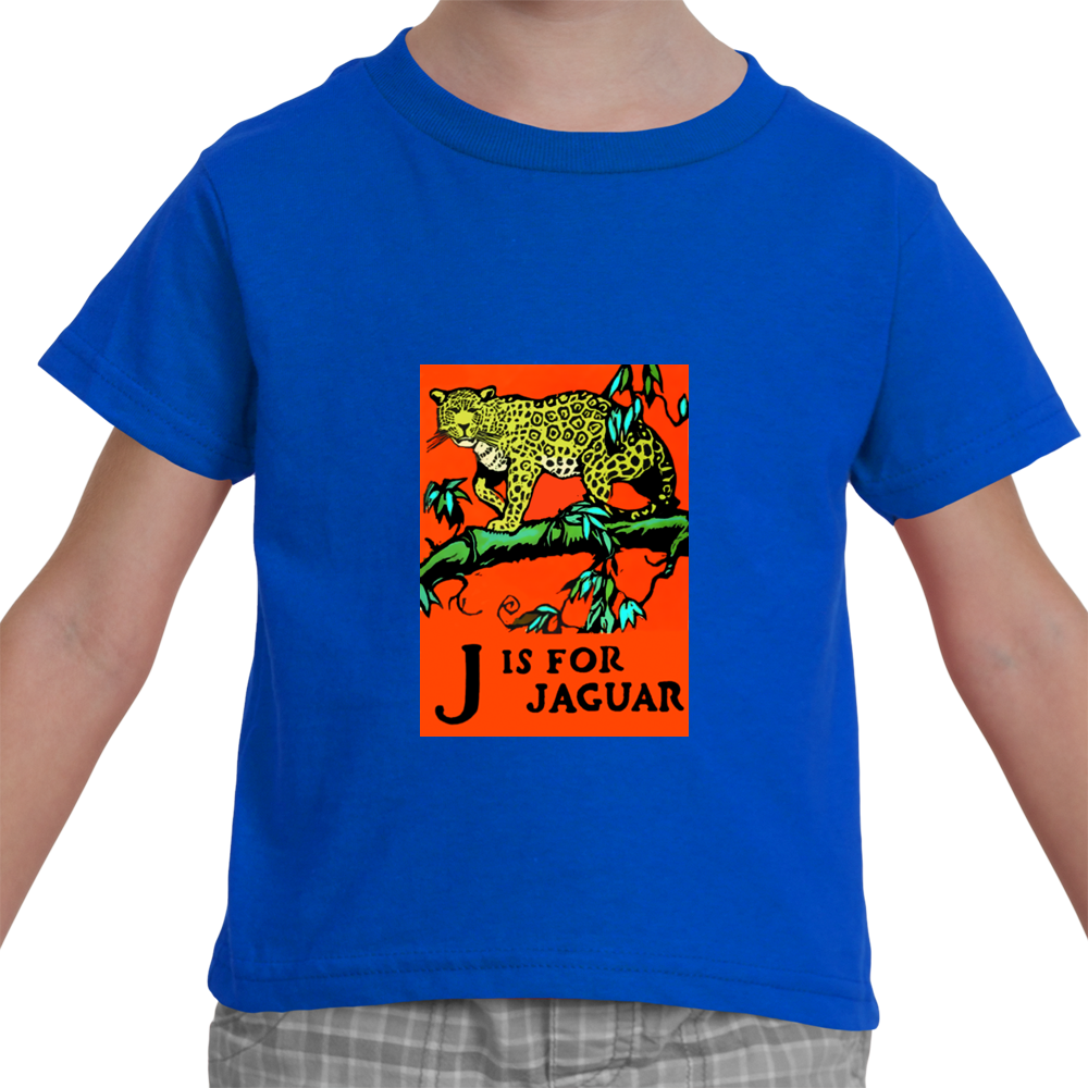"""J is for Jaguar"" Toddler T-Shirt"