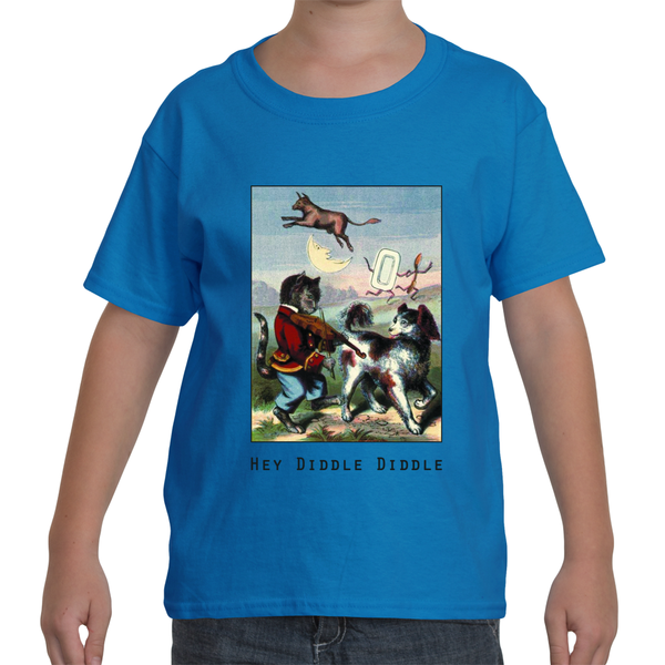 """Hey Diddle Diddle"" Youth T-Shirt"