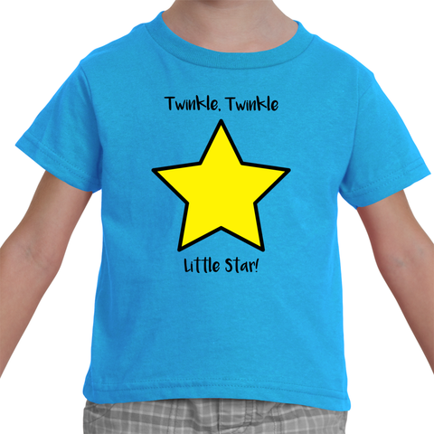 """Twinkle, Twinkle Little Star"" Toddler T-Shirt"