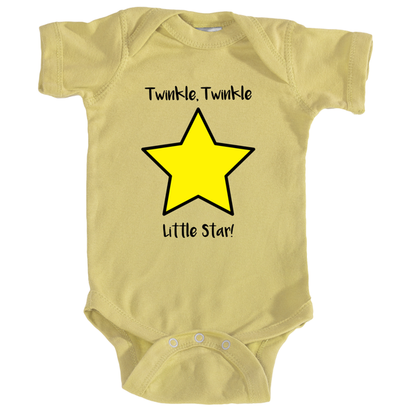 """Twinkle, Twinkle Little Star"" Infant Onesie"