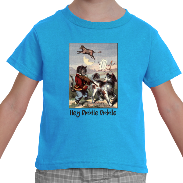 """Hey Diddle Diddle"" Toddler T-shirt"
