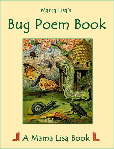 Sale! Bug Poem Book (Ebook)