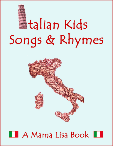 Italian Kids Songs & Rhymes Ebook