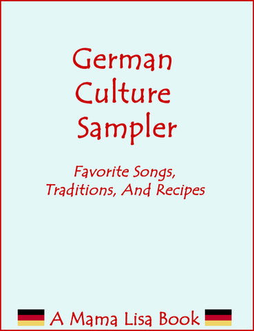 German Cultural Sampler Ebook