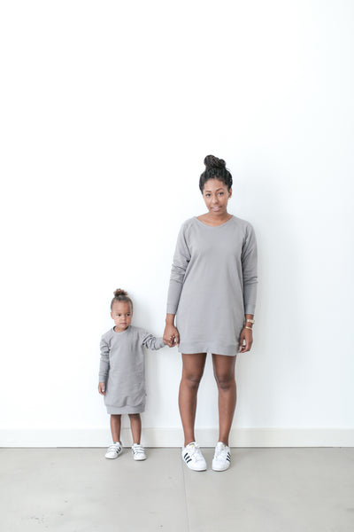 MOM SWEATER - GREY