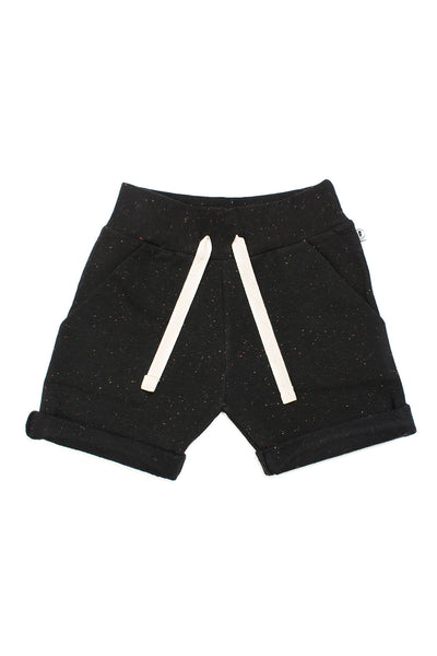 POCKET SHORTS REZA - BLACK