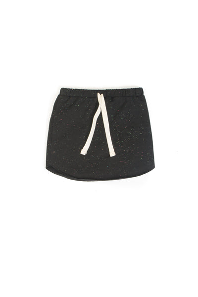 FITTED SKIRT BIBI - BLACK