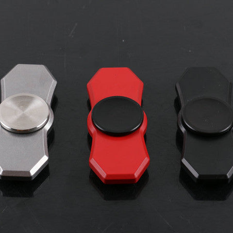 Hex Dual-Bar Fidget Spinner
