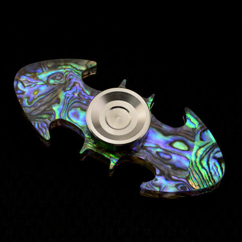 Acrylic Batman Spinner with Metal Thumbcap