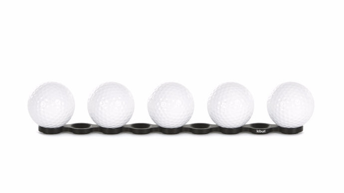 Medium (M) kiburi golf ball display for golf lovers