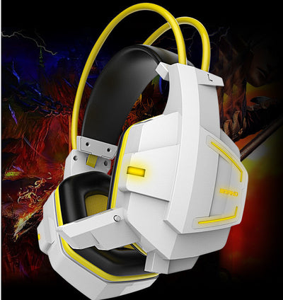 Casque Gaming LED avec micro FANTOME