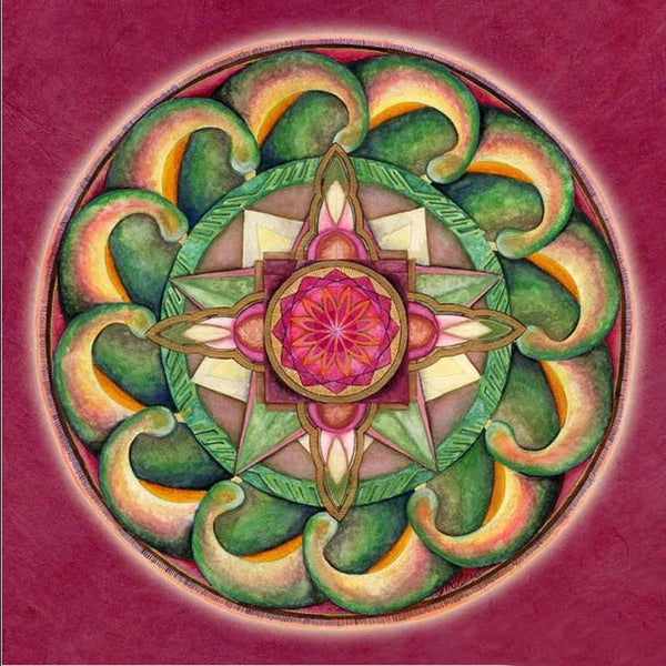 Kaleidoscope 8 - Diamond Painting Kit