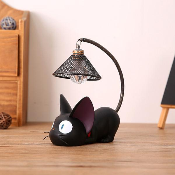 Little Black Cat Jiji Cat Lamp