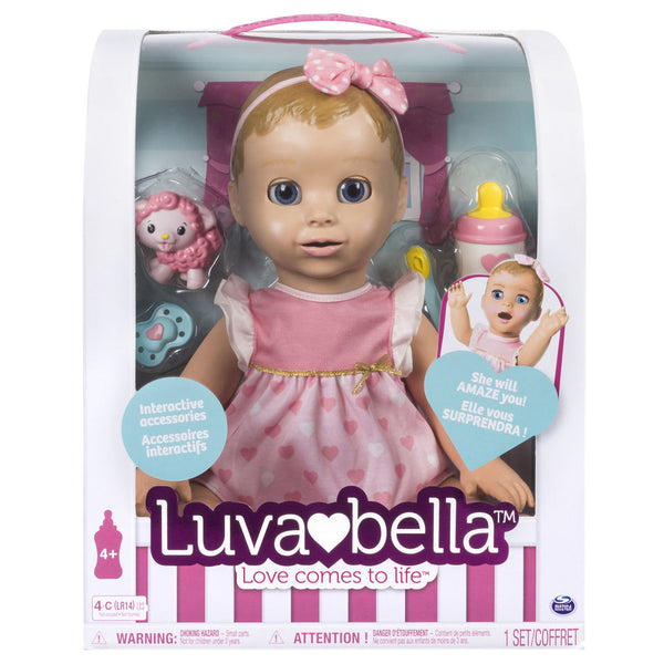 Luvabella Reallistic Baby Doll - Blonde Hair