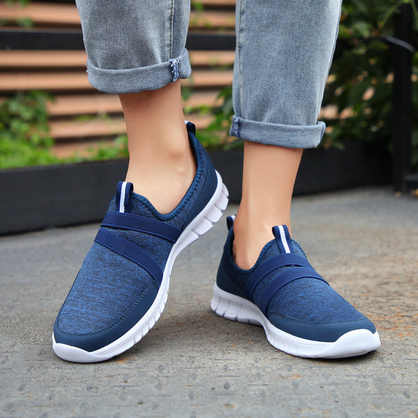 Slip on Fabric Athletic Sneakers