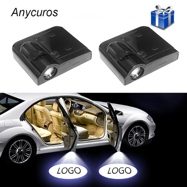 Universal Wireless Car Projection LED Projector (2pcs- Buy MORE save MORE)