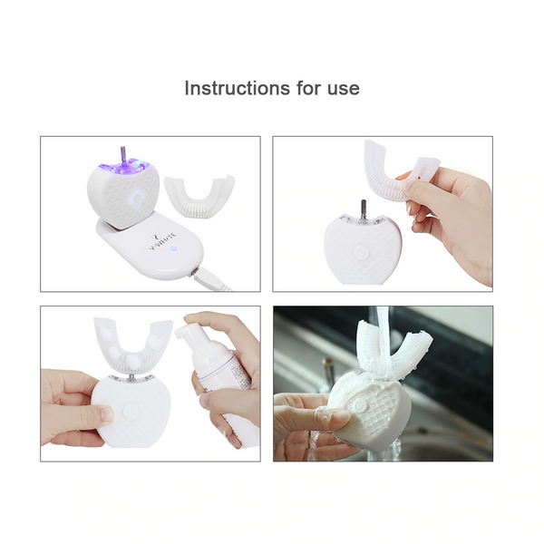 Hands Free Toothbrush - For Whiter Teeth