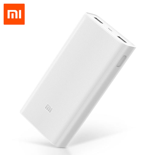 20000mAh Mi Power Bank Two-way Fast Charging QC3.0 for Xiaomi 5 Huawei Mate 9 HTC