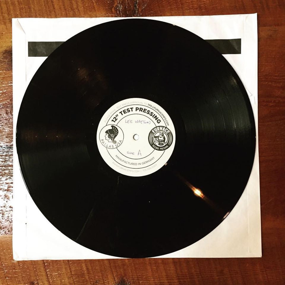 Lee Watson - Test Pressing Approved.