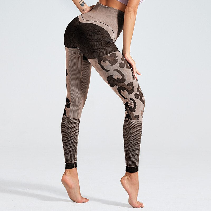 'Leopard' Fitness Leggings