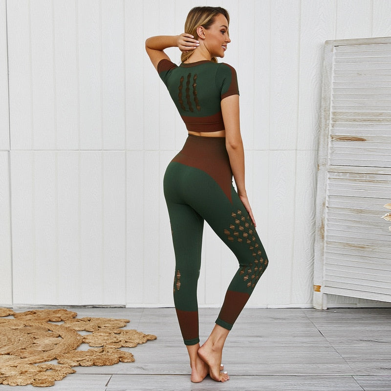 'Vril' Fitness Leggings and Top