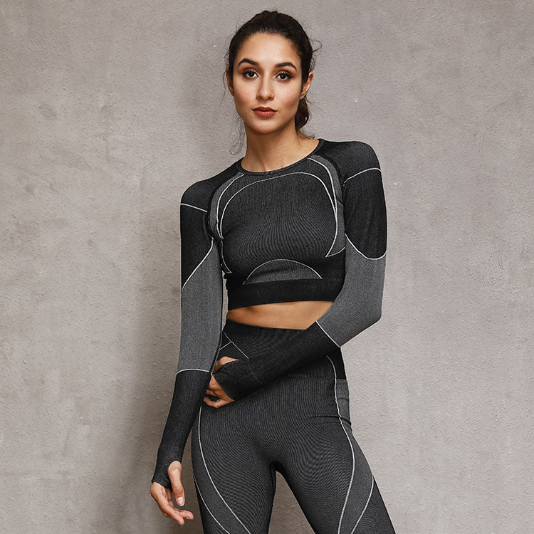 'Lou' Fitness Leggings and Top
