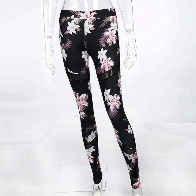 Fitness Floral Leggings
