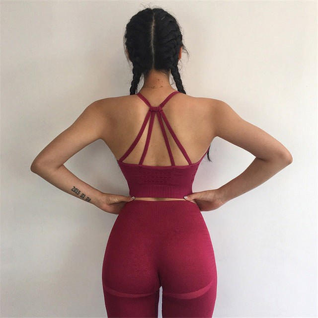 'Olive' Fitness Leggings and Top