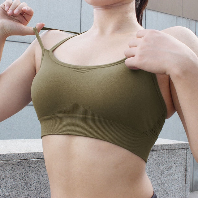 'Push-Up' Fitness Top