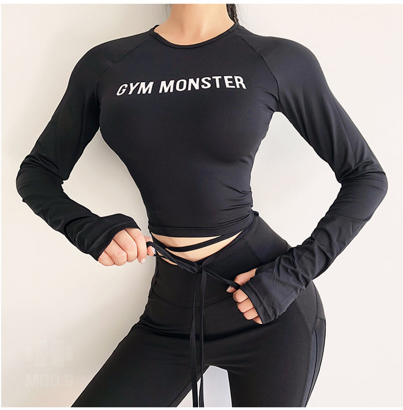 'Gym Monster' Fitness Top