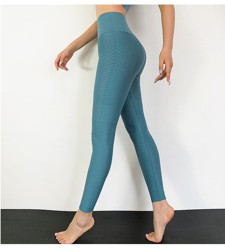 'Jacquard' Fitness Leggings