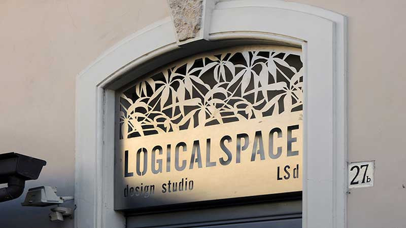 logical space design store entrance