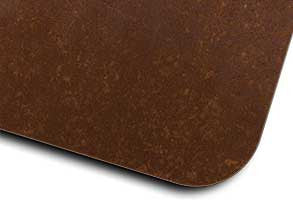 corten iron completely oxidized