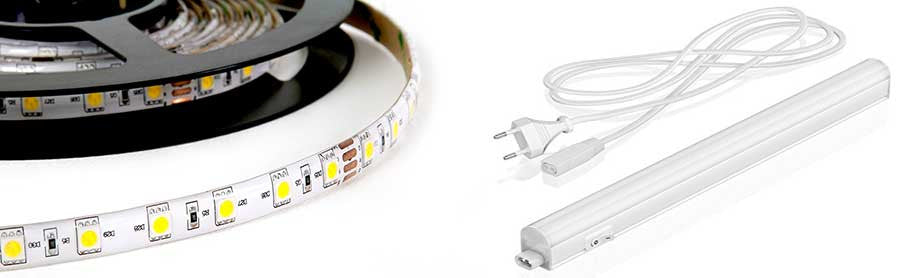 Led strip 24V 3200K IP65 High Performance
