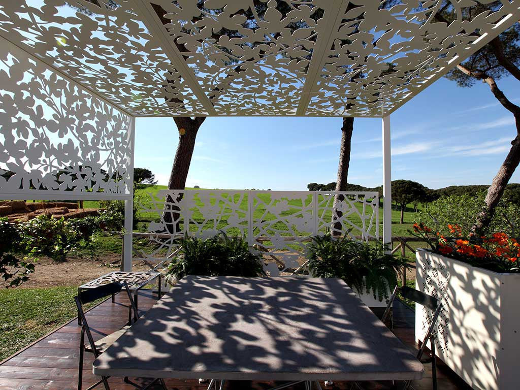 Garden Sun Shade Logical Space Design