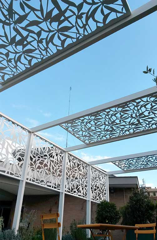 Terrace Gazebo Logical Space Design