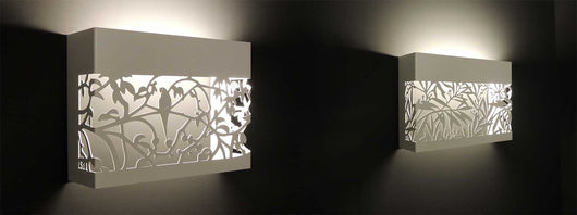 Aluminum Applique Lamps
