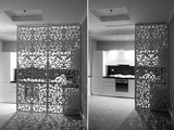 Merletto screen kitchen and room divider based on traditionals drawings of Venetian Lace