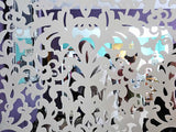 Merletto screen burano museum room divider detail based on traditionals drawings of Venetian Lace