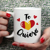 Free Worldwide Shipping - Te Quiero - Spanish Lover Mug [Gift Idea - Makes A Fun Present]
