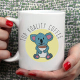 Free Shipping Worldwide - Top Koality Coffee [Gift Idea - Makes A Fun Present / Gift For Him / Gift For Her] Cute Koala Mug