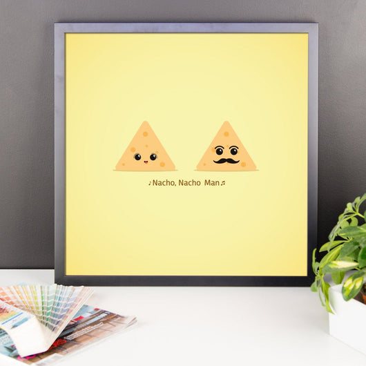 Free Shipping Worldwide - Nacho, Nacho Man - Wall Print