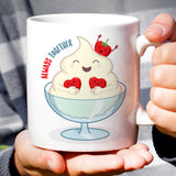 Free Shipping Worldwide - Strawberry & Cream - Always Together Love Mug [Gift Idea - Makes A Fun Present] [For Him / For Her]