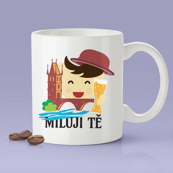 Free Shipping Worldwide - Miluji tě - Czech [Gift Idea For Him or Her - Makes A Fun Present] I Love You - Czech Republic