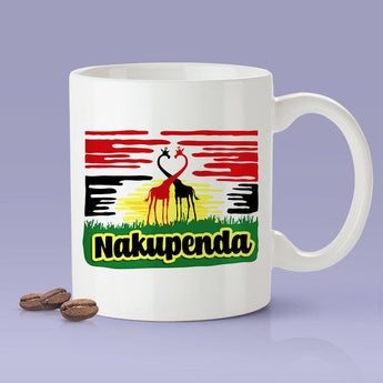 Free Shipping Worldwide Nakupenda - I Love You -  Africa  [Gift Idea For Him or Her - Makes A Fun Present] I Love You
