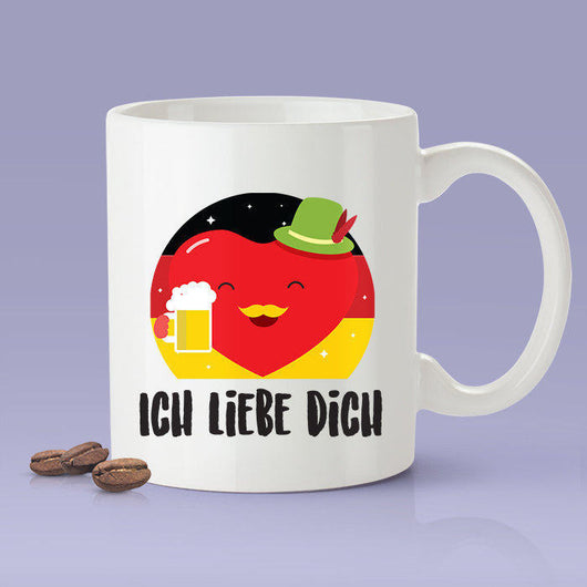 Ich Liebe Dich - German Lover Mug [Gift Idea - Makes A Fun Present] I Love You