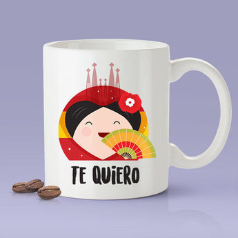 Free Worldwide Shipping - Te Quiero - Spanish Lover Mug [Gift Idea - Makes A Fun Present] I Love You