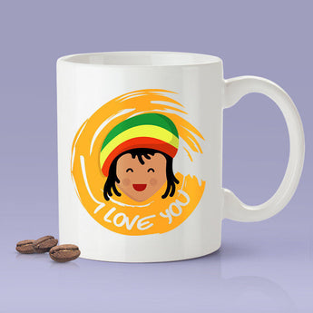 Free Worldwide Shipping - I Love You - Jamaican Mug [Gift Idea For Him or Her - Makes A Fun Present] I Love You Jamaica