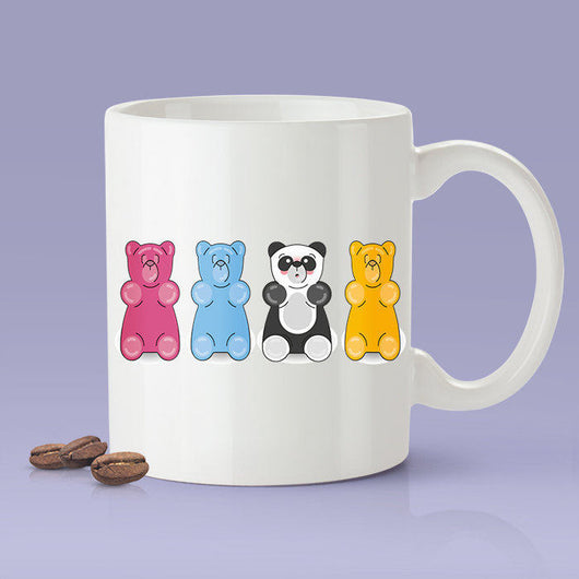 Free Worldwide Shipping - Cute Gummi Panda Bear Mug [Gift Idea - Makes A Fun Present]